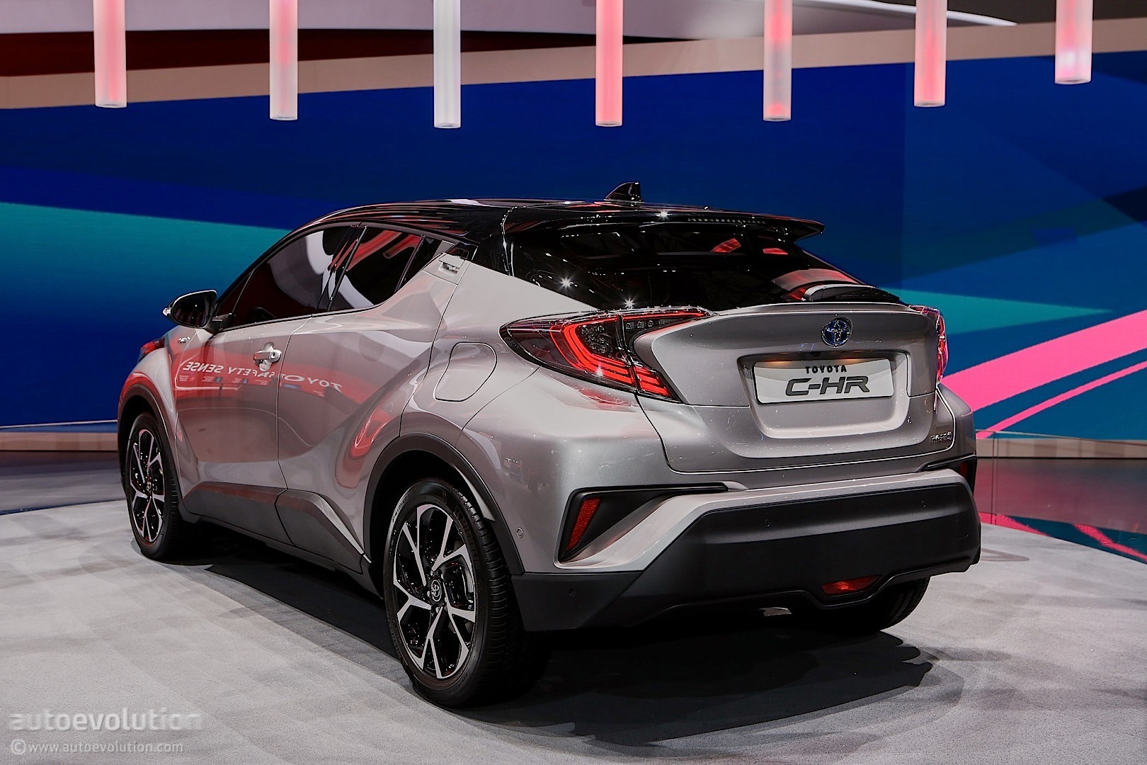 Toyota Puts Its Creative Pants On for Geneva with the C-HR Crossover ...