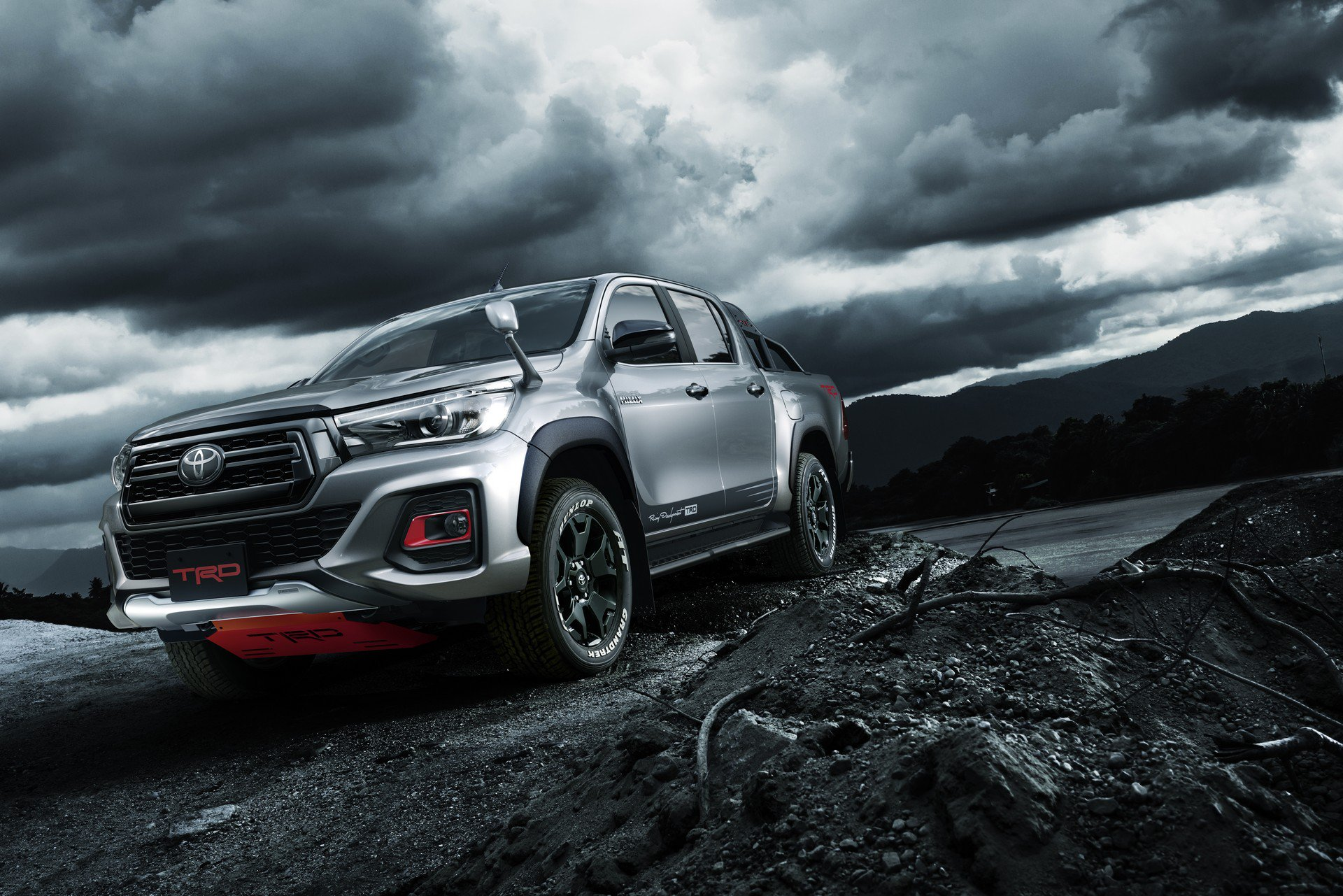 Toyota Reveals Japan Only Hilux Black Rally Edition With