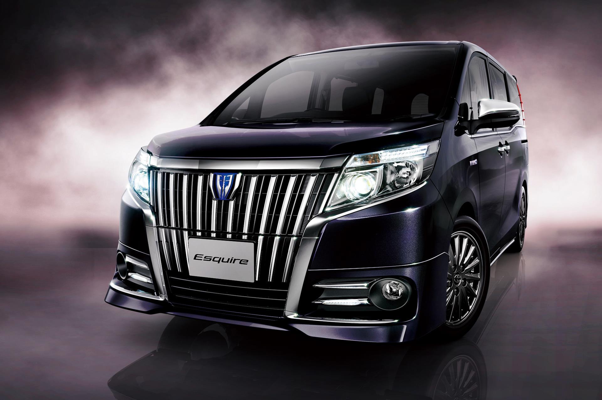 Toyota reveals new esquire van batman would drive one