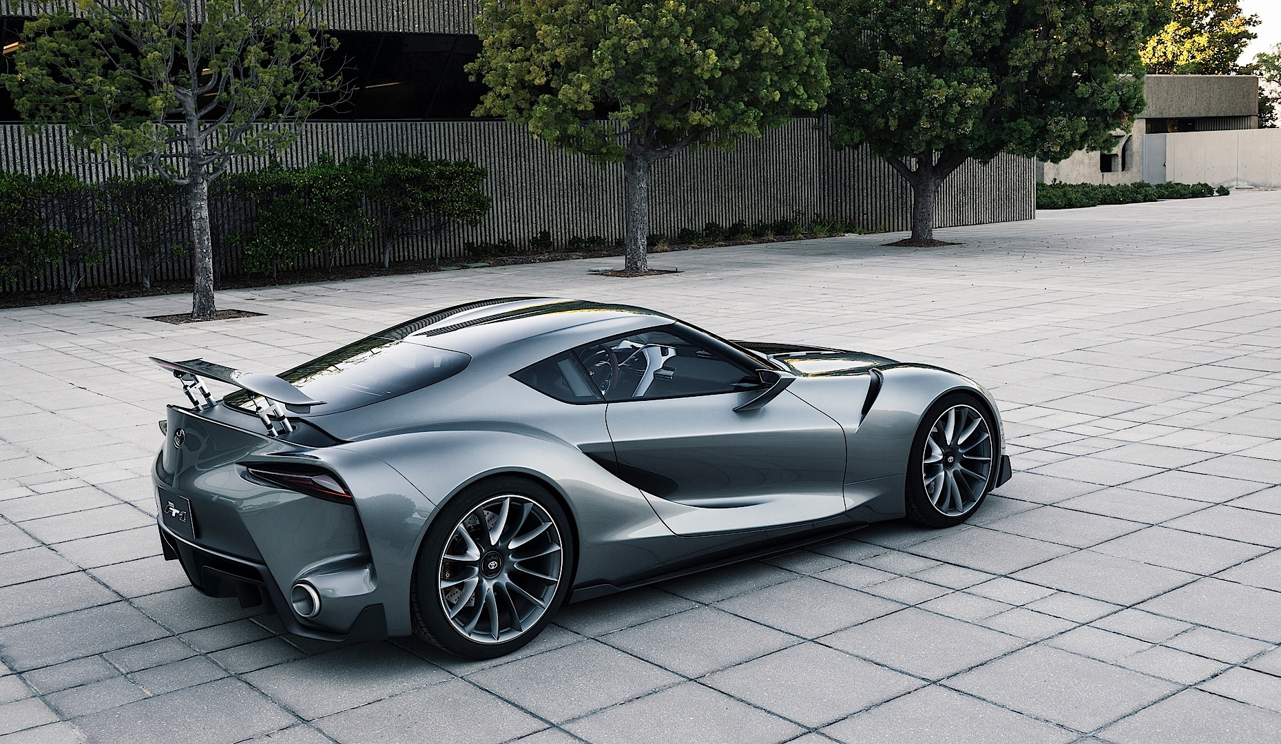 Land Rover Sport >> Toyota Reveals New FT-1 Graphite Concept at Pebble Beach ...