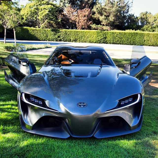 Toyota Ft 1 >> Toyota Reveals New FT-1 Graphite Concept at Pebble Beach ...