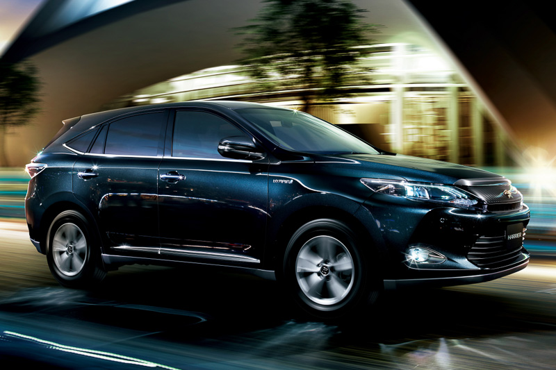 Toyota Corolla Tires >> Toyota Reveals New Harrier SUV in Japan [Video ...