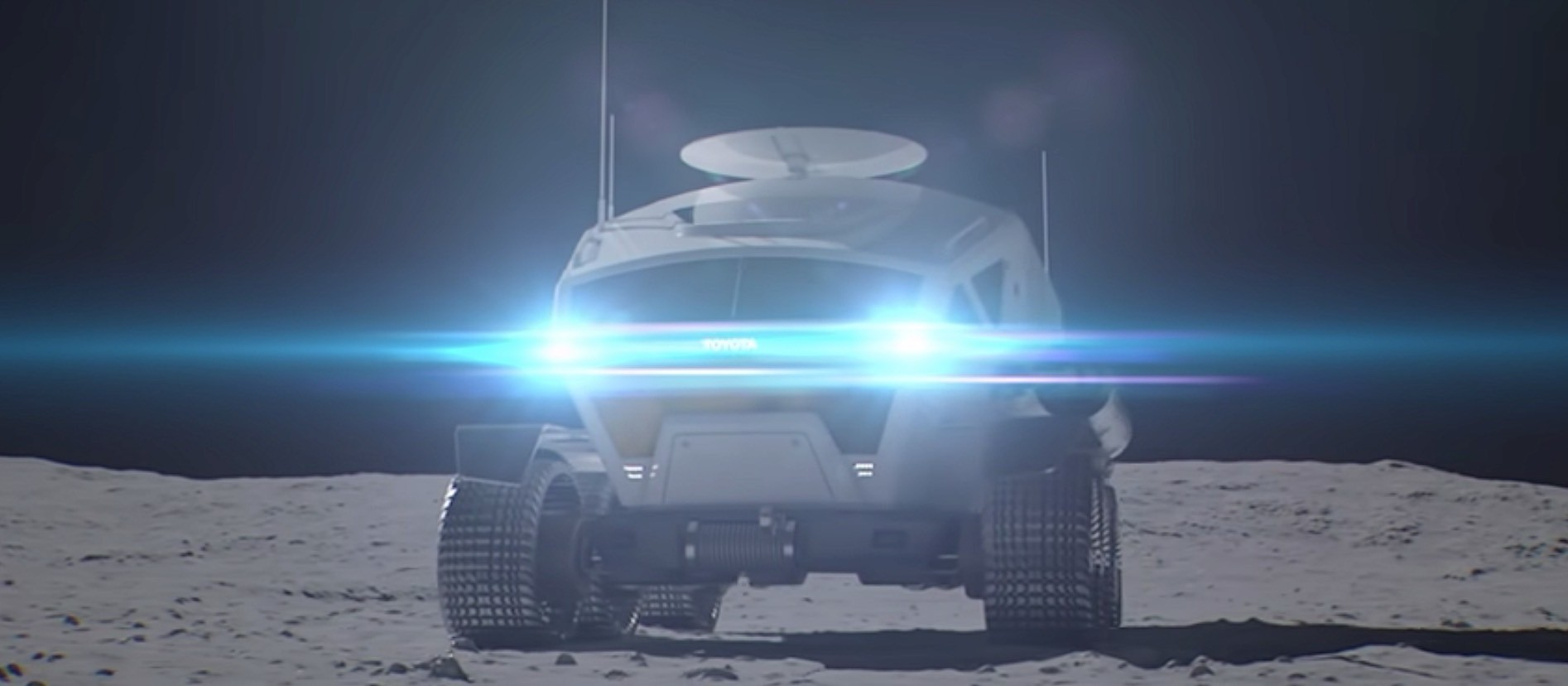 Toyota Reveals Pressurized Moon Rover Designed For Jaxa