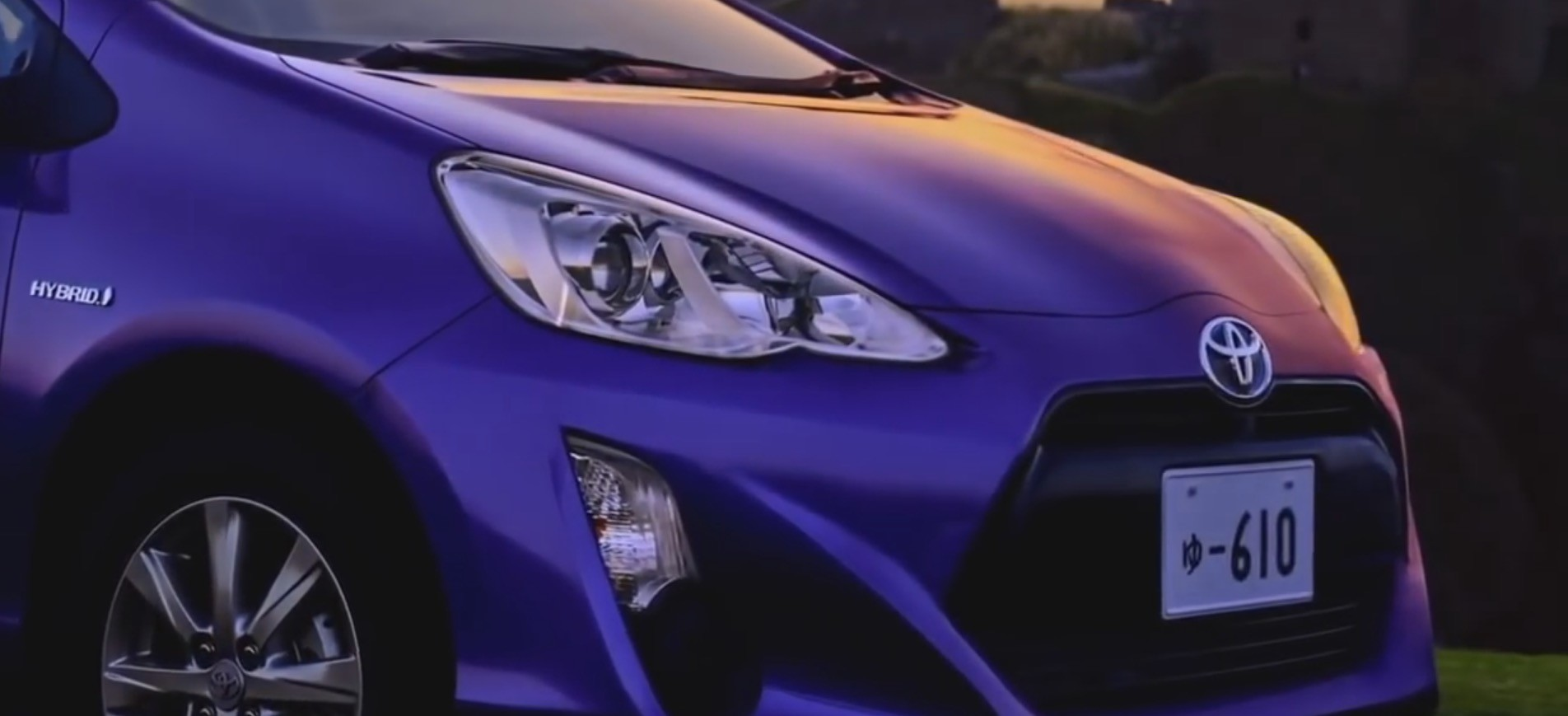 Toyota Aqua New TV Ad Featuring Hatsune Miku Song ...