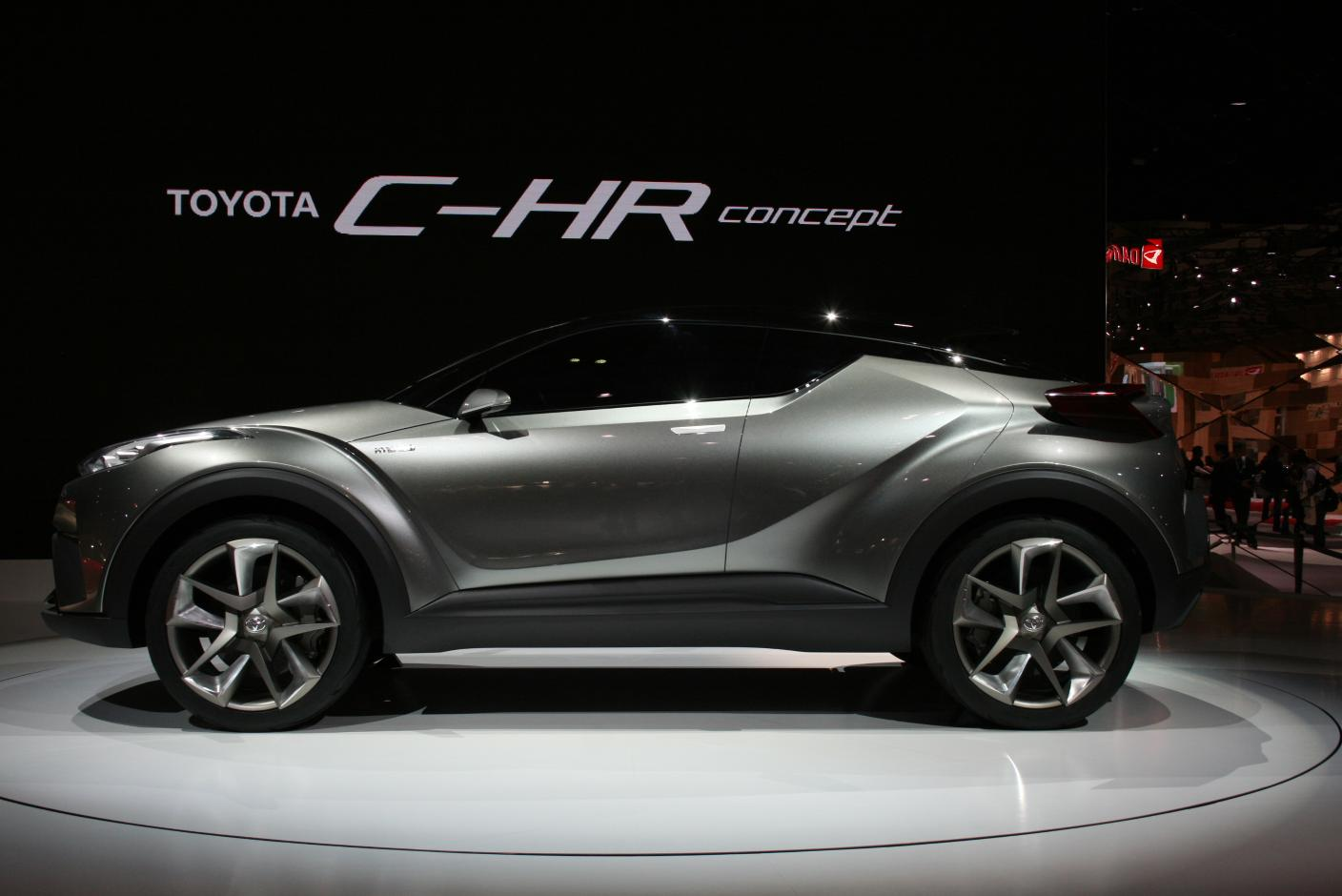 Toyota Says C Hr Will Debut At Geneva 2016 Shows Concept