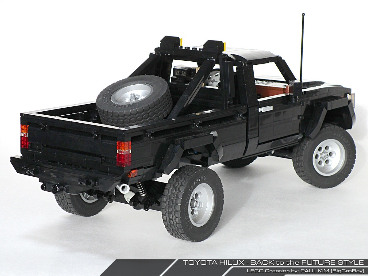 Toyota Sr5 4x4 Back To The Future All In Lego Autoevolution