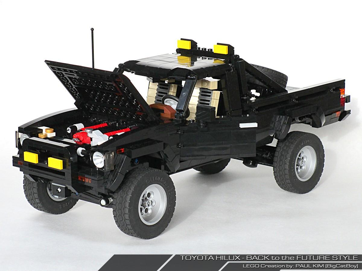 Toyota Sr5 4x4 Back To The Future All In Lego Autoevolution