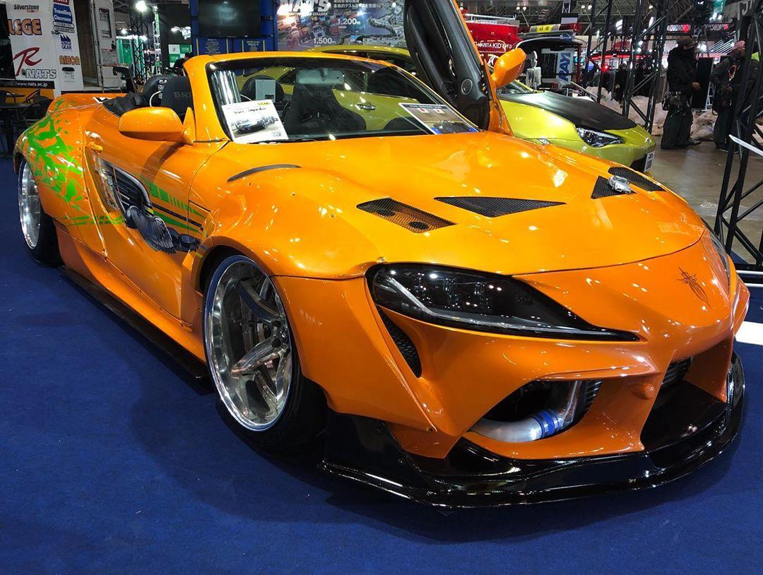 UPDATE: 2020 Toyota Supra Convertible Debuts in Tokyo, Is ...