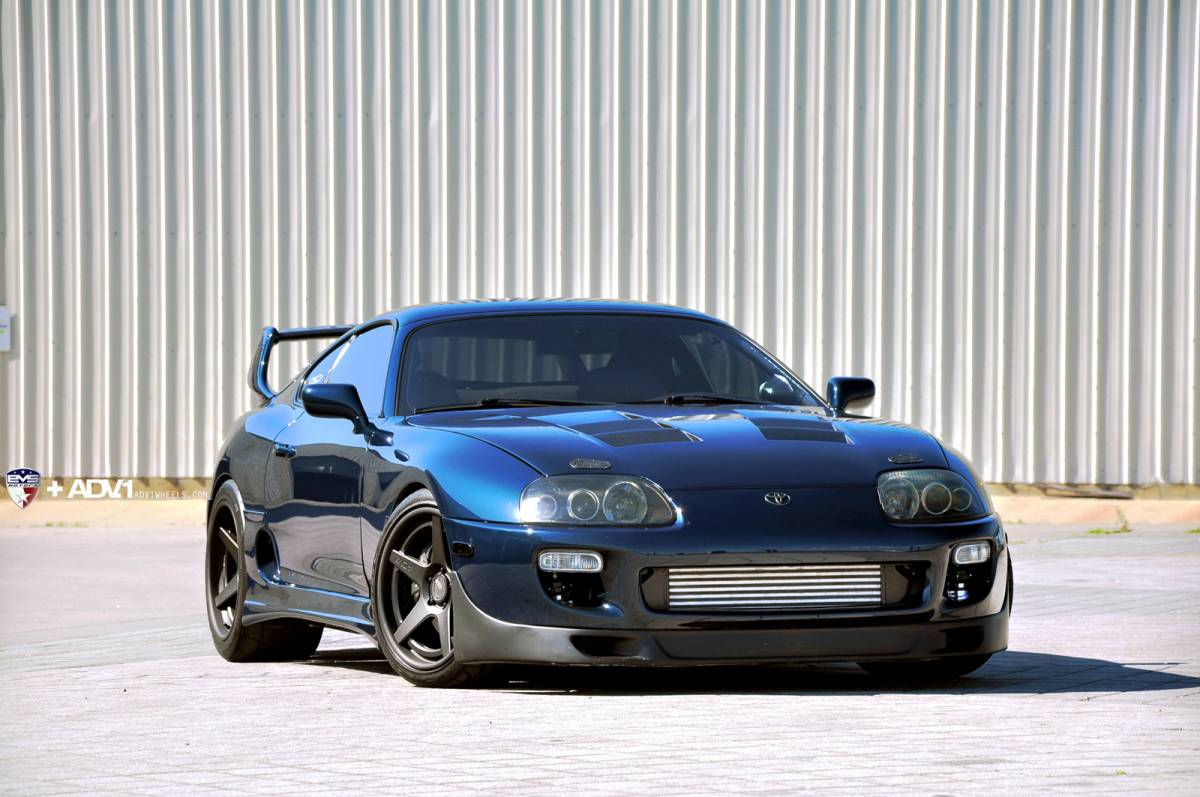 Toyota Supra Looks Mean On Adv 1 Wheels Autoevolution