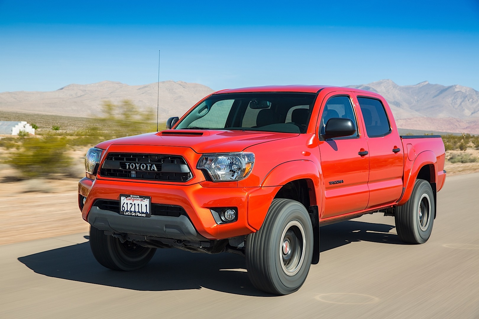 2017 Toyota Tacoma Lifted >> Toyota Tacoma and 4Runner TRD Pro Price Released - autoevolution