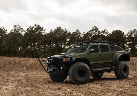 Toyota Tacoma Polar Expedition Truck Goes Under The Hammer