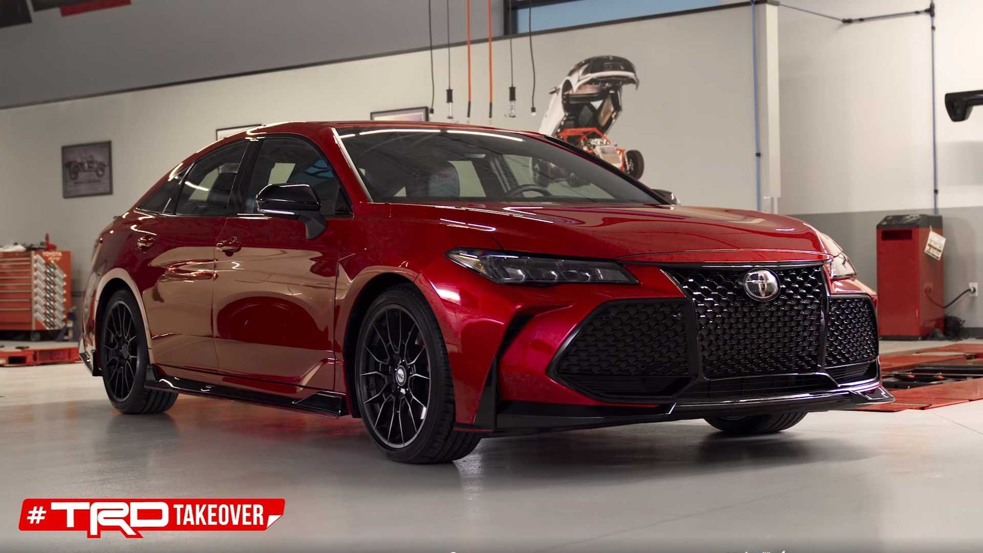 Toyota Teases Camry Trd Avalon Trd Like There S No