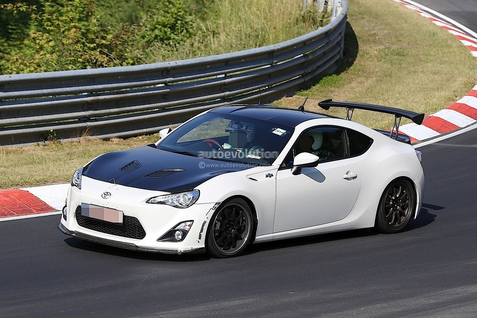 Toyota Testing Rc F Like Special Edition Carbon Fiber Gt