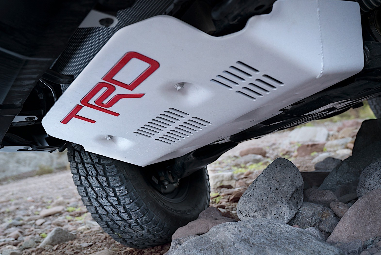 New Off-Road Pickup Adds Desert Air Intake
