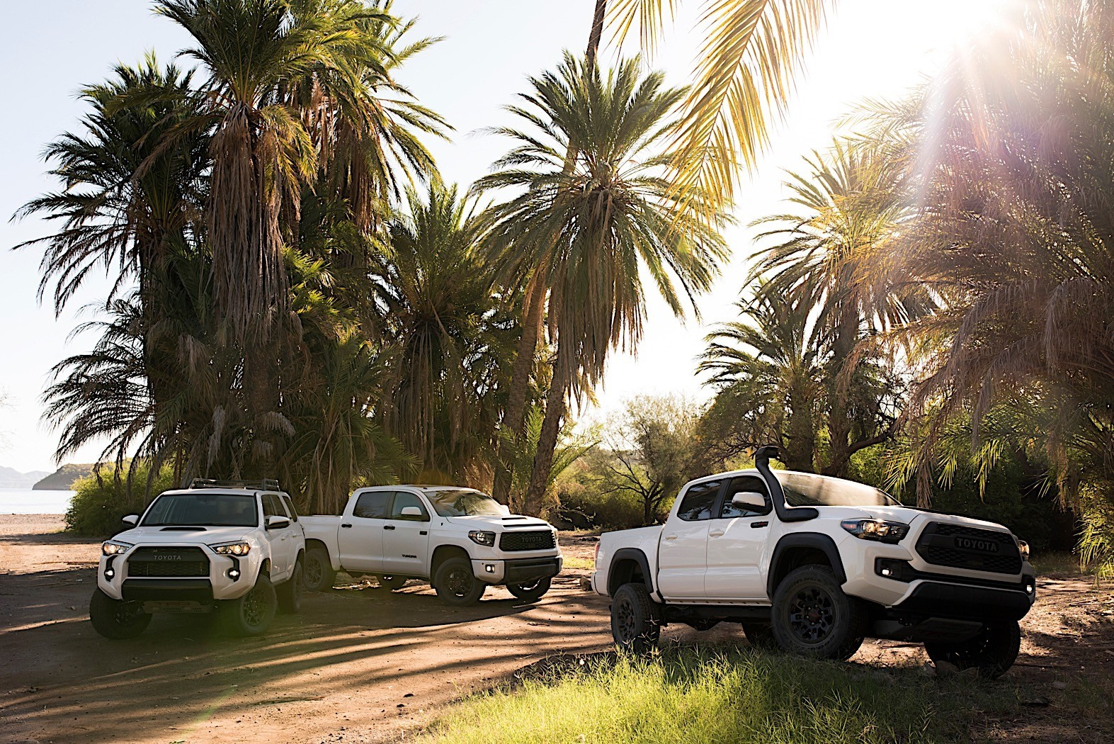 Toyota Tacoma, Tundra TRD Pro trucks get extra off-road goodies in Chicago