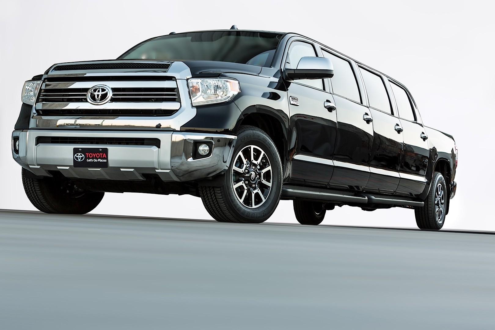 "Toyota ""Tundrasine"" Is a Luxury Pickup Limousine, Because SEMA - autoevolution"
