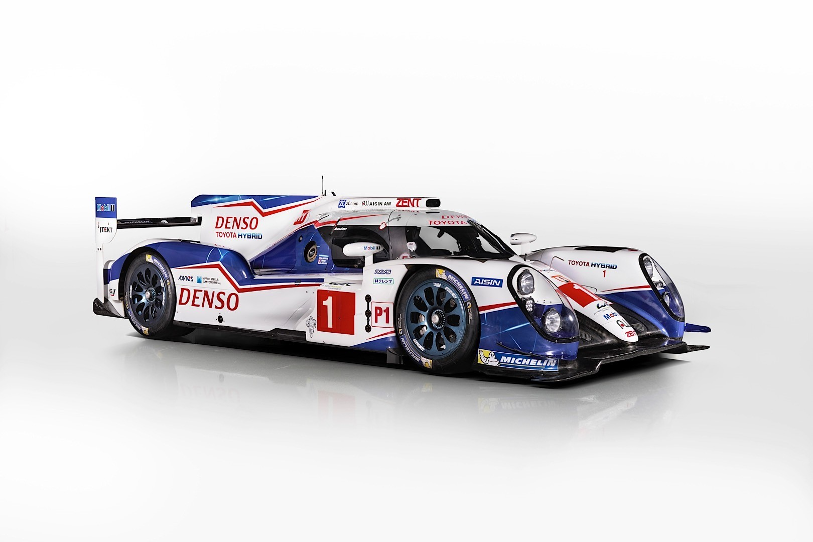 Toyota Uncovers The 2015 Ts040 Hybrid Le Mans Prototype