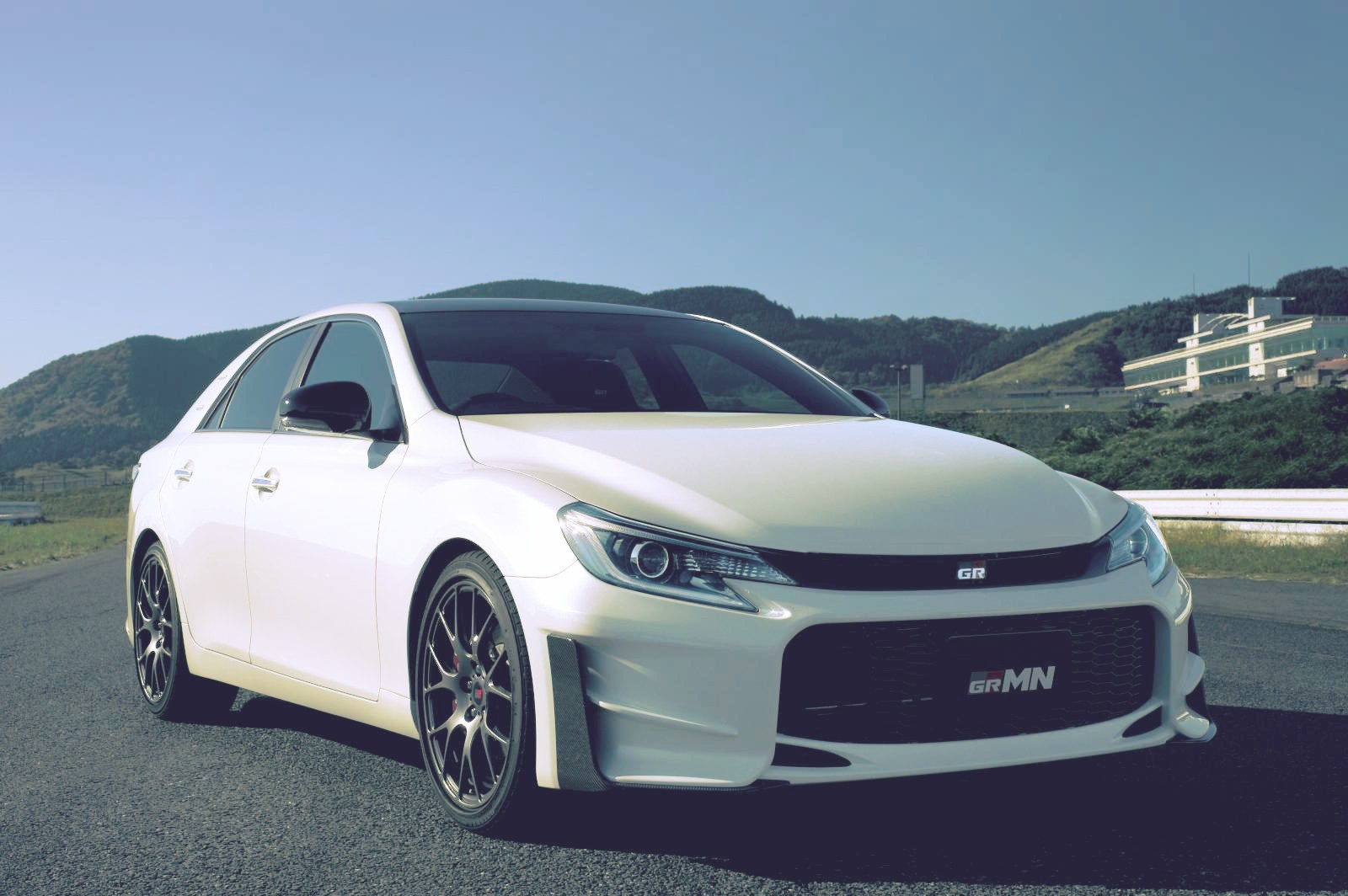Toyota Unveils Limited 2015 Mark X Grmn In Japan