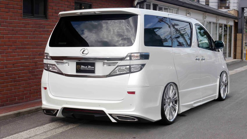 Toyota Vellfire Turned Into Lexus By Wald Autoevolution
