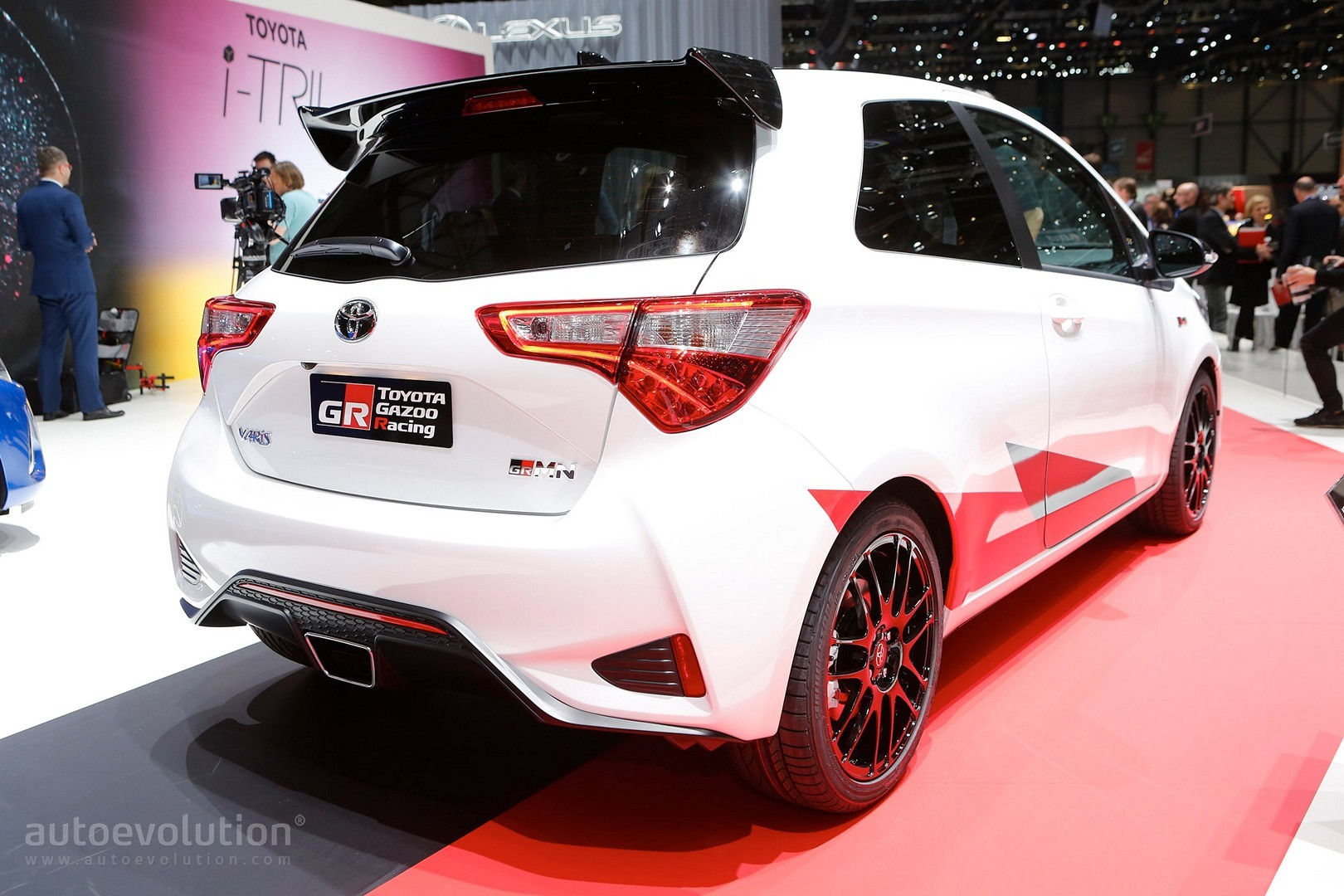 2018 toyota yaris grmn. modren yaris toyota yaris grmn hot hatch joins facelift and wrc race car in geneva  inside 2018 toyota yaris grmn