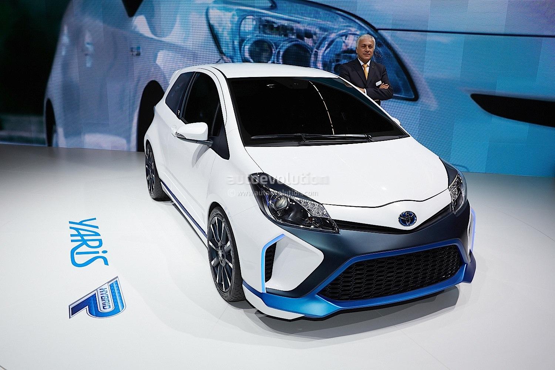 Toyota Yaris Hybrid R Concept Unveiled At Frankfurt
