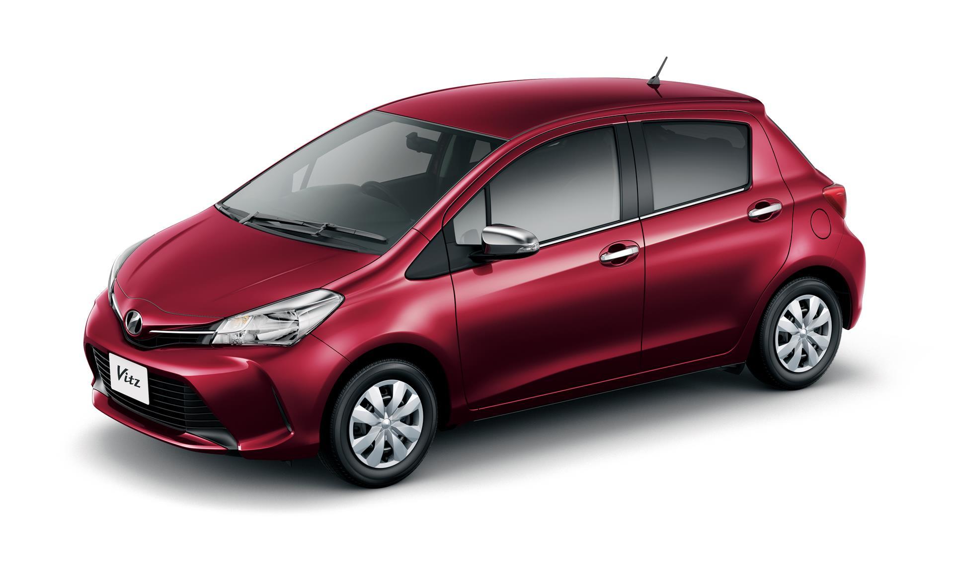 Toyota Yaris Vitz Gets Aygo Style Facelift Autoevolution