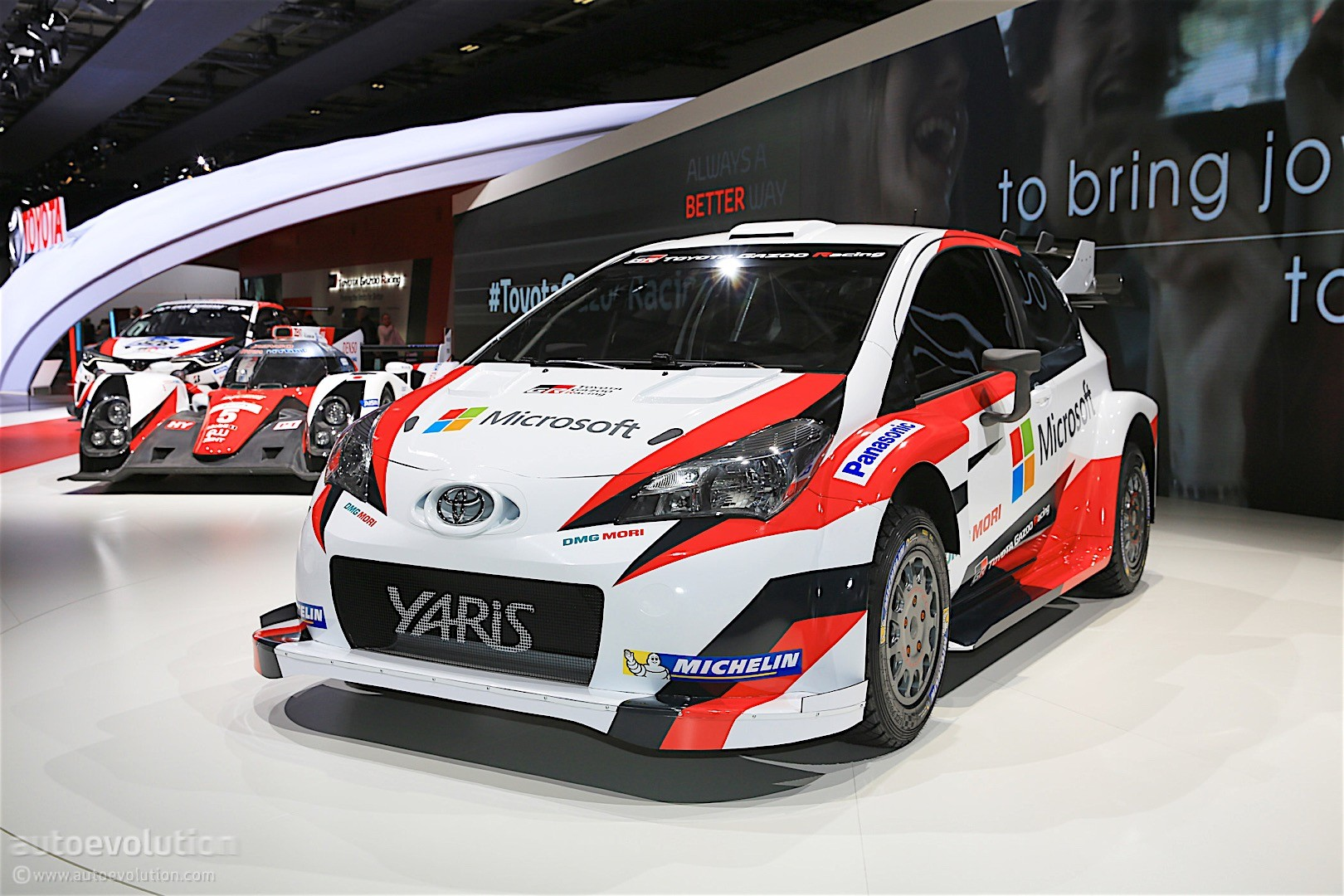 2017 Toyota Yaris Wrc Revealed Will Race Next Year With Microsoft