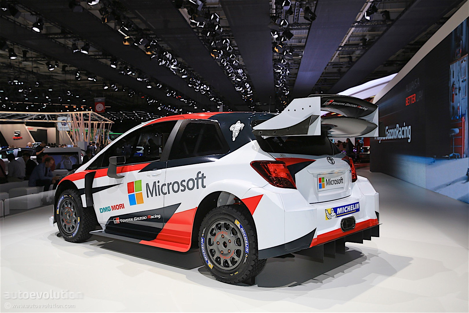 2017 Toyota Yaris WRC Revealed, Will Race Next Year With Microsoft ...