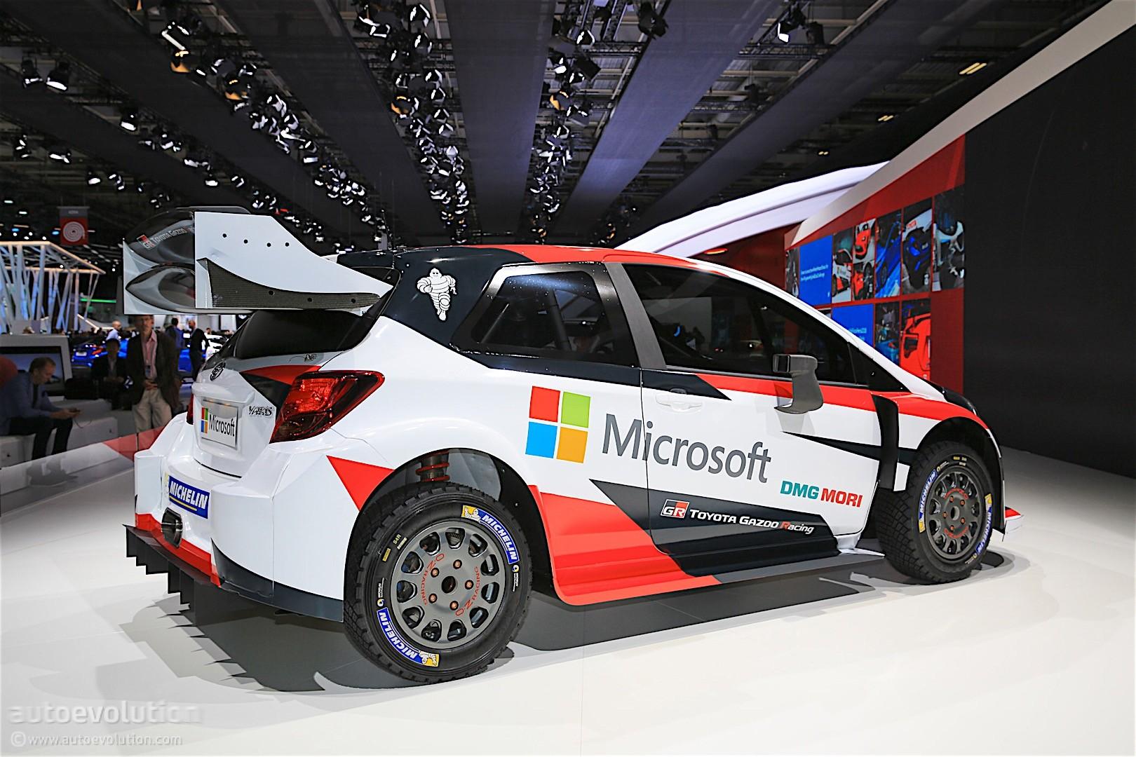 2017 Toyota Yaris WRC ...