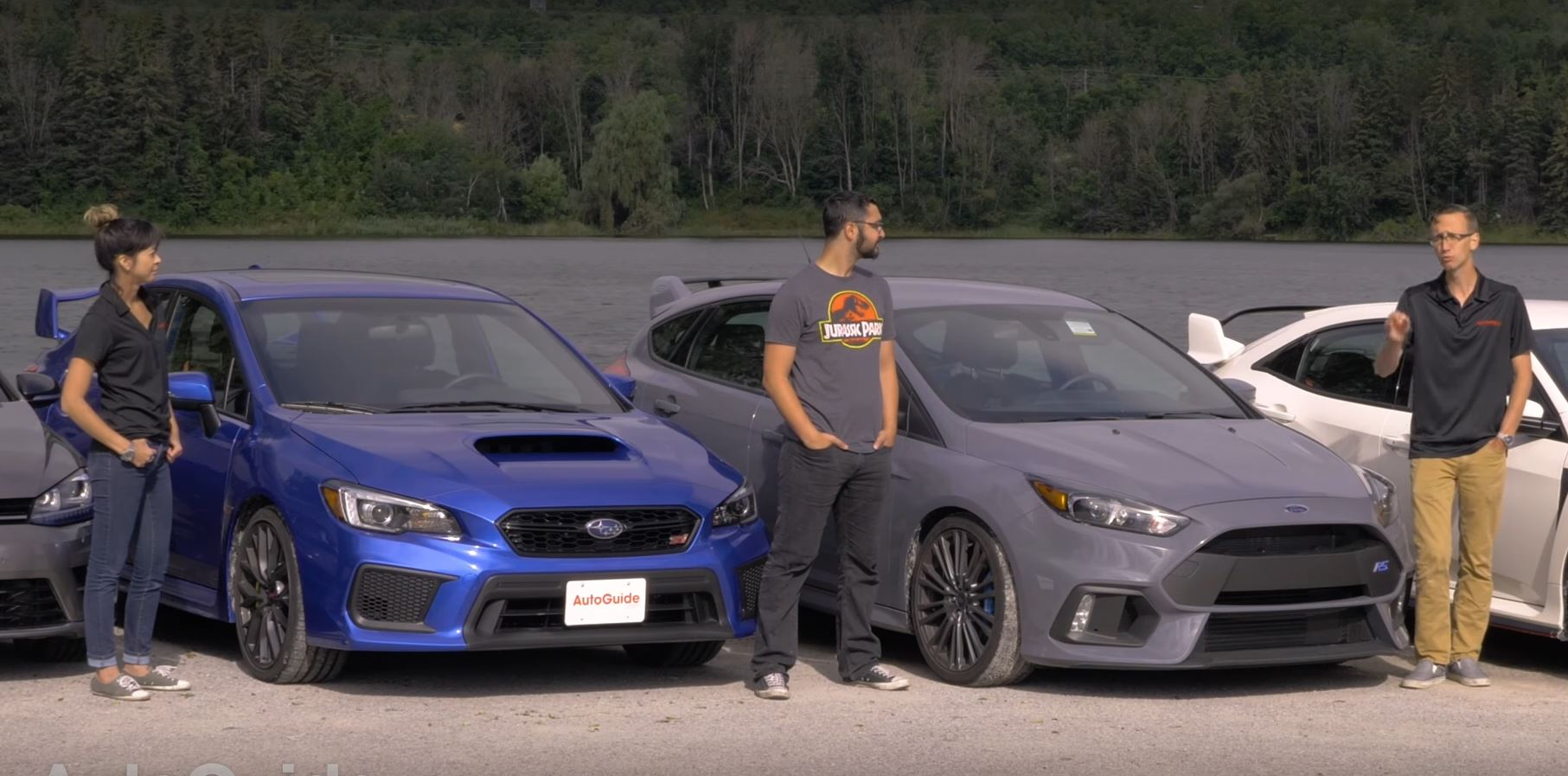Track Battle Civic Type R vs Focus RS WRX STI and Golf R