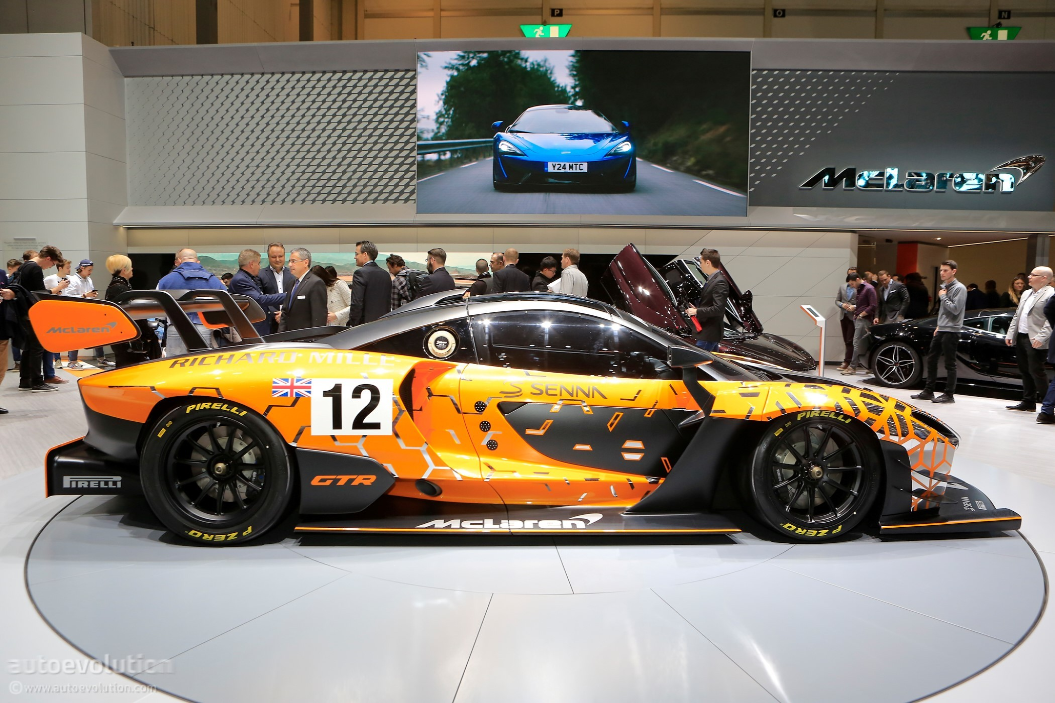 Track Only Mclaren Senna Gtr Enters Prototype Testing Stage