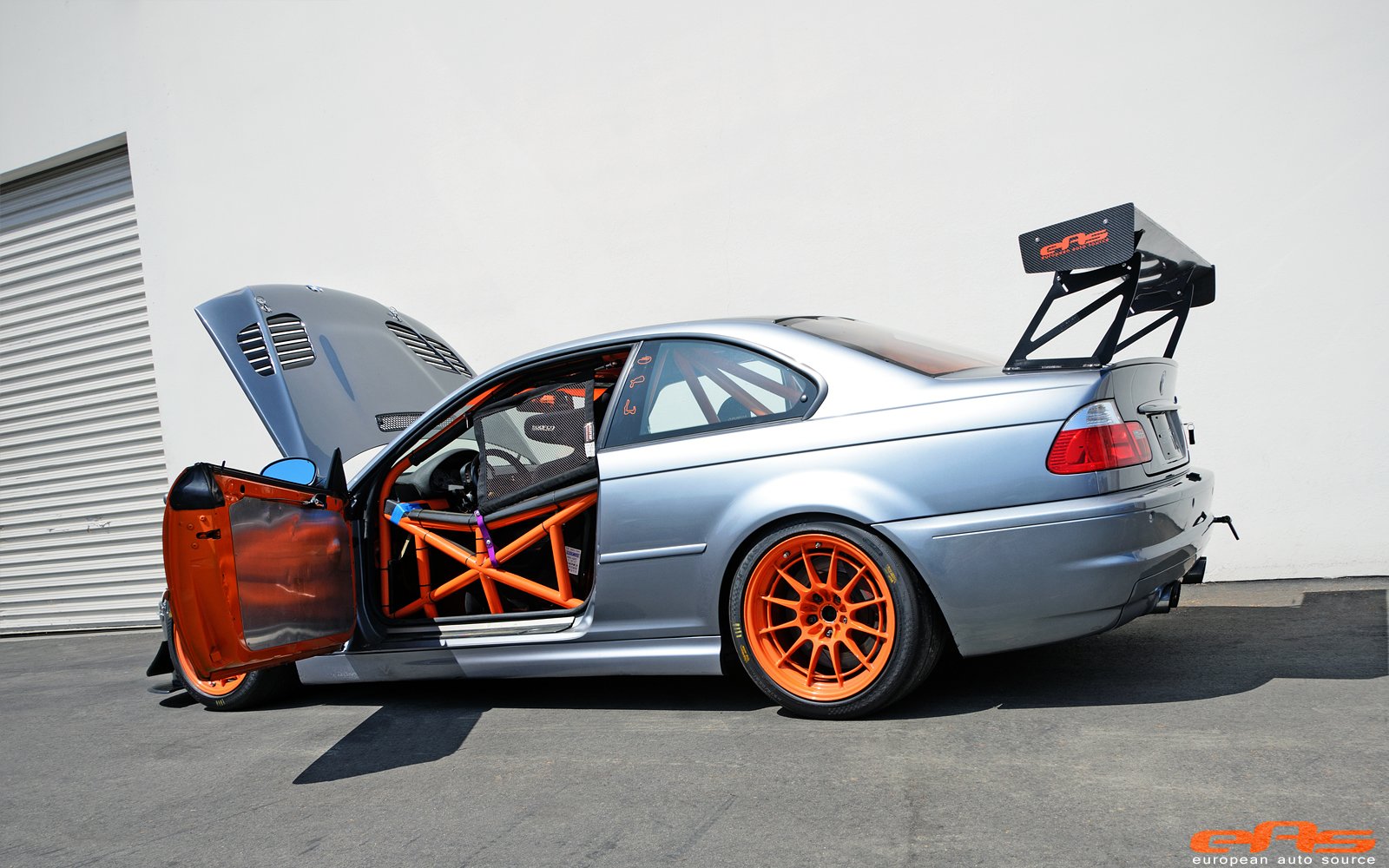 Race Car Junk >> Track-Spec BMW E46 M3 Gets Supercharger at EAS - autoevolution