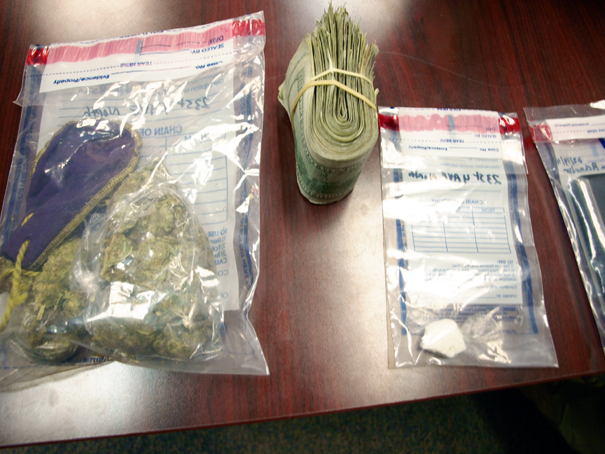 Traffic Stop Yields Large Drug Bust In Columbus
