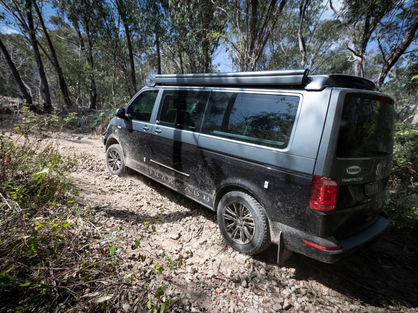 Trakkadu At Camper Van Shows That A Vw Transporter Can Do Off Roading Autoevolution