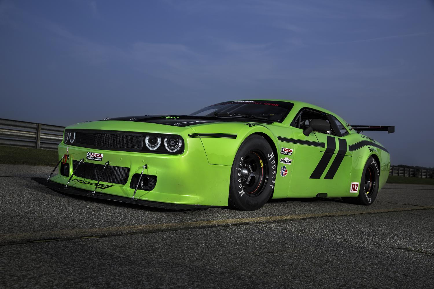 Green Kia Soul >> Trans Am Dodge Challenger SRT is a Lean, Mean and Green ...
