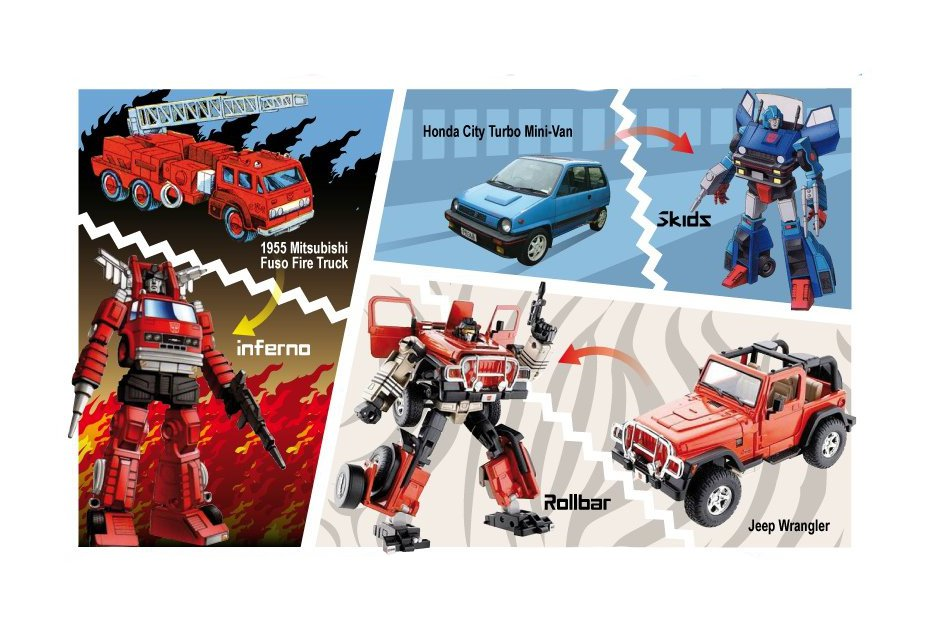 Transformers Genesis The Original Cars Autoevolution