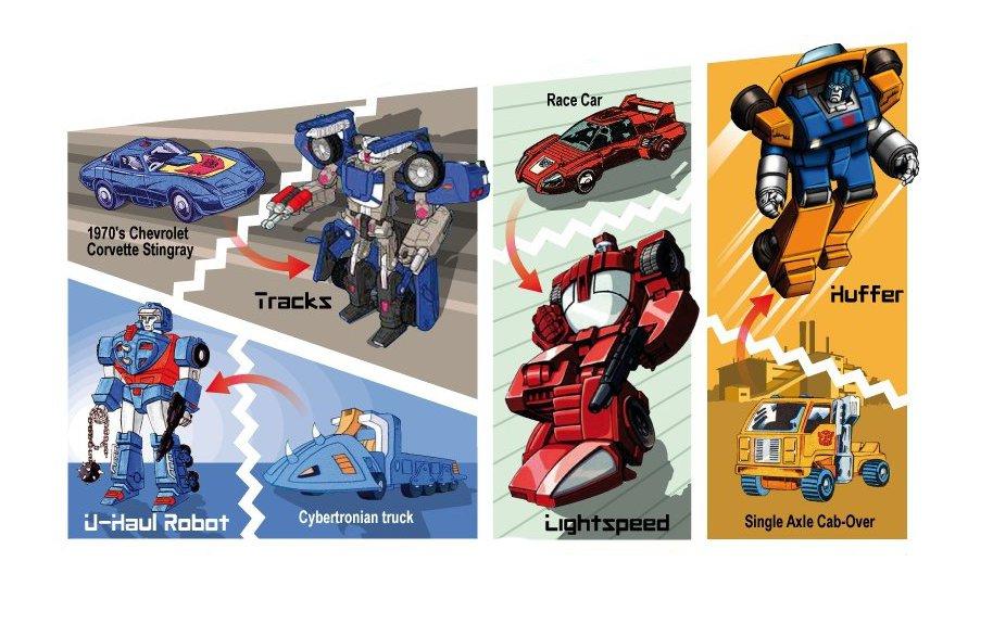 Transformers Genesis The Original Cars Autoevolution