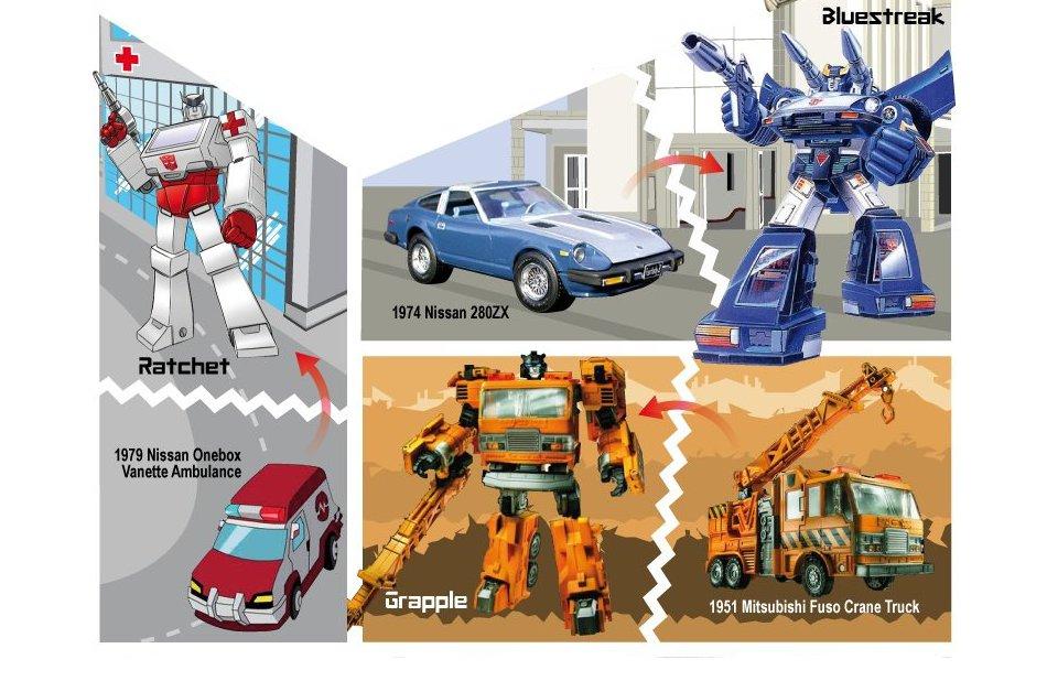Transformers Genesis – The Original Cars - autoevolution