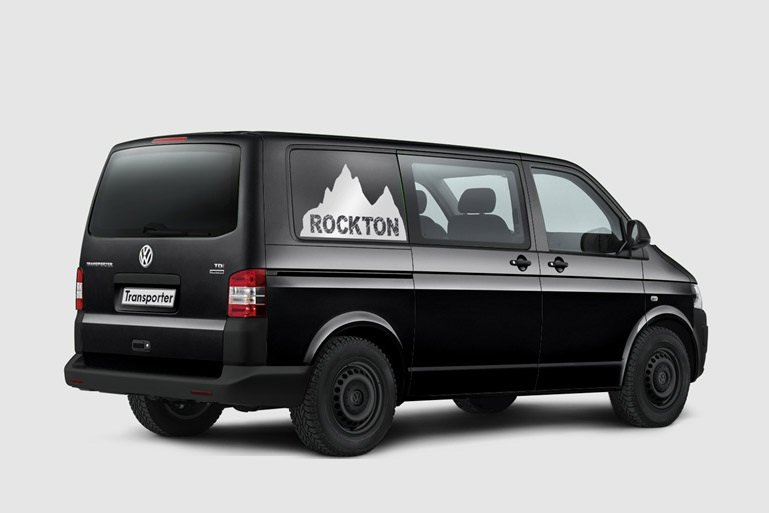 Transporter Rockton Off-Roading Van Launched - autoevolution