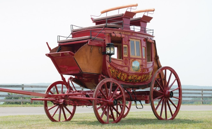 Travel Like A Sir In This Abbot Downing Stagecoach For