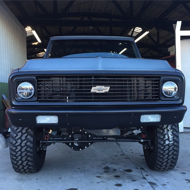 Travis Barker's Chevy K5 Blazer Project Goes Further, Will ...