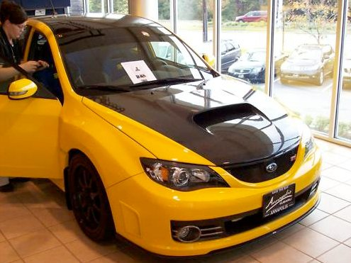travis pastrana 39 s subaru impreza wrx sti for sale on ebay autoevolution. Black Bedroom Furniture Sets. Home Design Ideas