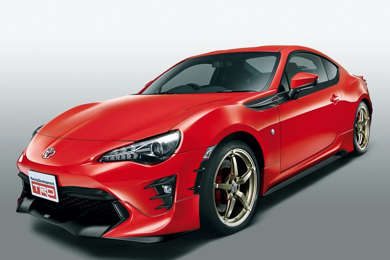 TRD Releases Parts for 2017 Toyota GT 86 in Japan - autoevolution