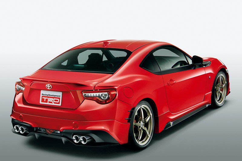 TRD Releases Parts for 2017 Toyota GT 86 in Japan ...