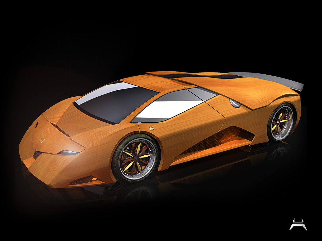 Once Driven Reviews >> Tree-Killing Wood Supercar is Coming Along Nicely - autoevolution