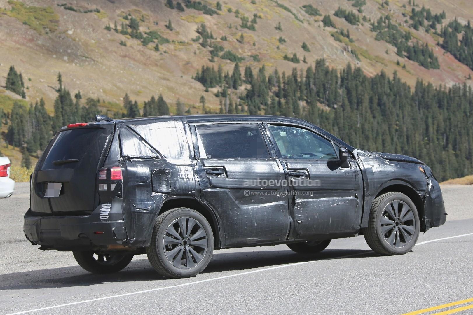 2019 Subaru Tribeca Heir Spied Benchmarking Against Mazda ...