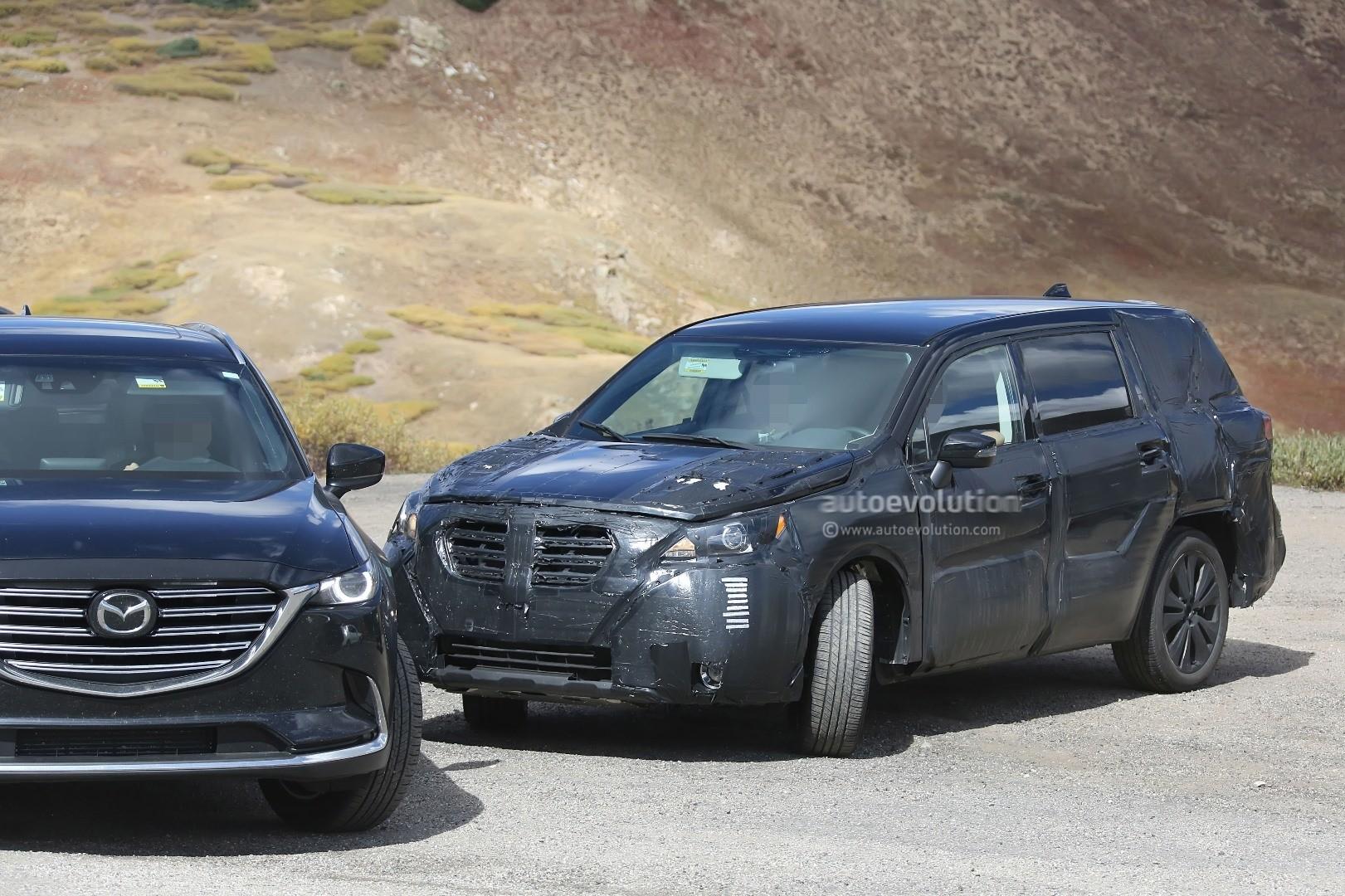 Used 2016 Ford Explorer >> 2019 Subaru Tribeca Heir Spied Benchmarking Against Mazda CX-9, Ford Explorer - autoevolution