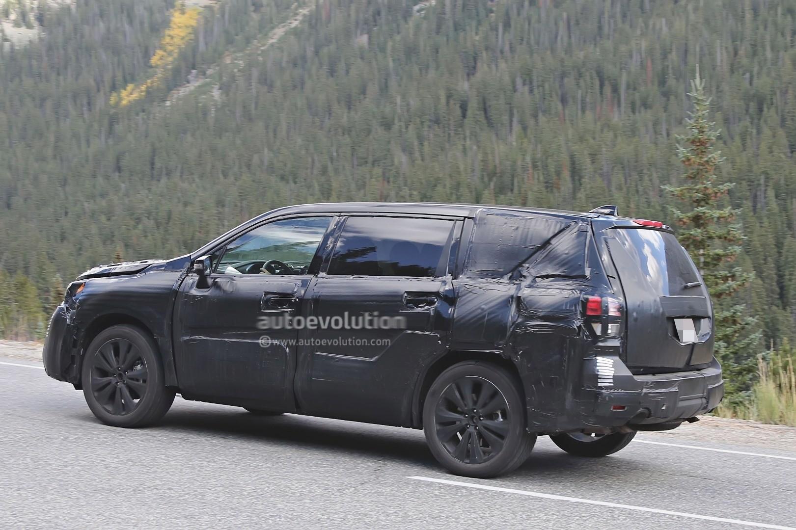 Subaru Tribeca 2016 >> 2019 Subaru Tribeca Heir Spied Benchmarking Against Mazda CX-9, Ford Explorer - autoevolution