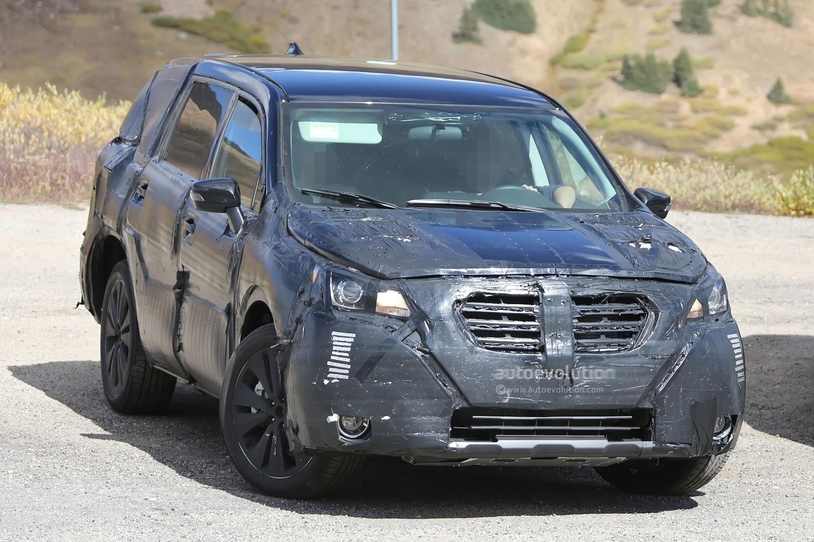Cx 9 2017 >> 2019 Subaru Tribeca Heir Spied Benchmarking Against Mazda CX-9, Ford Explorer - autoevolution