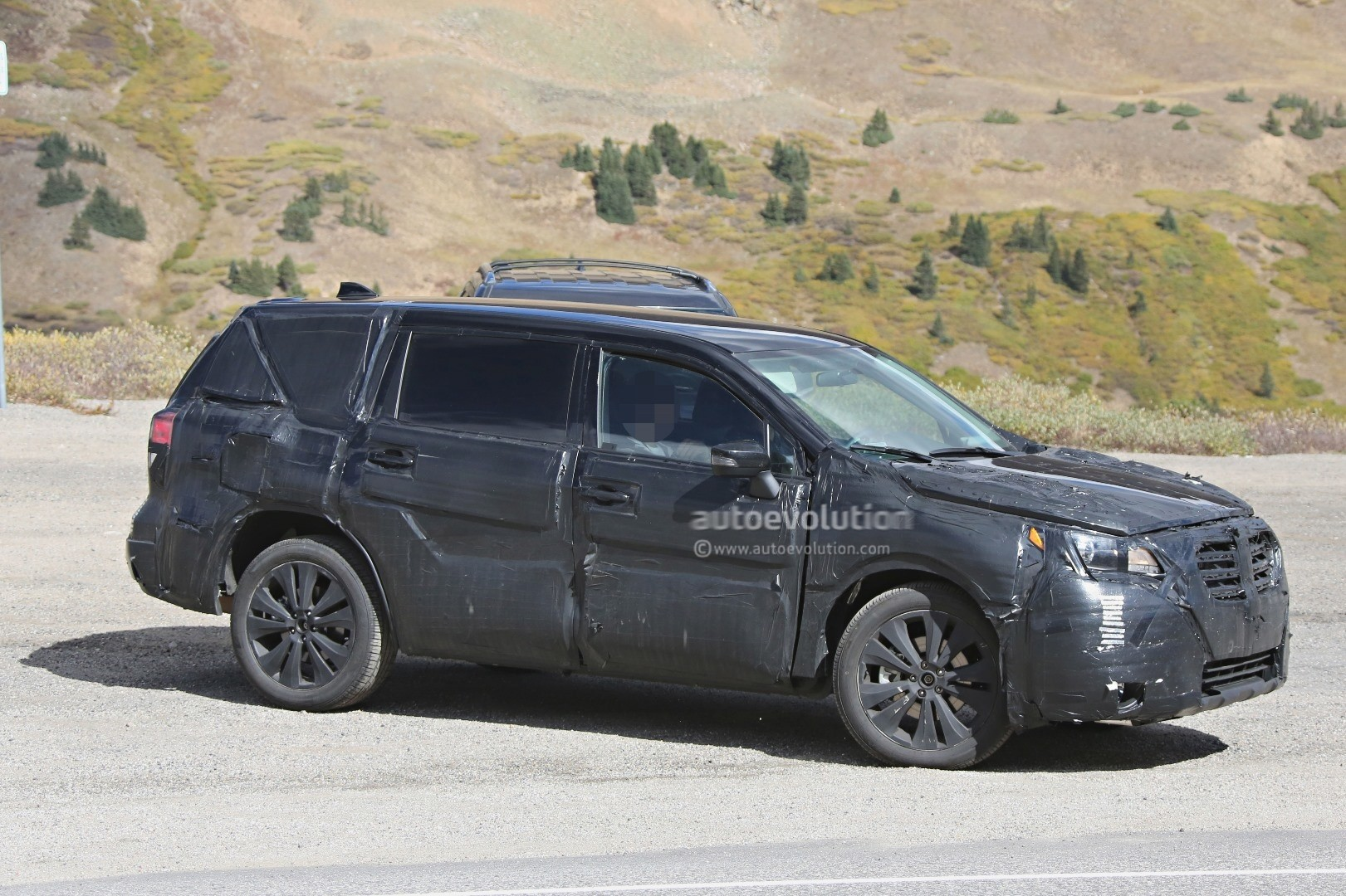 2019 Subaru Tribeca Heir Spied Benchmarking Against Mazda